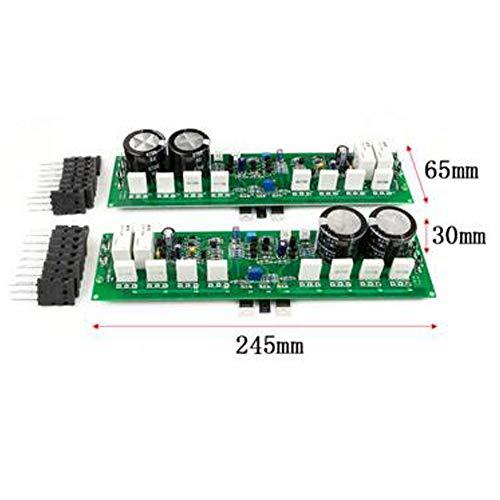 Tablero del Amplificador de Potencia de la Etapa del Poder más Elevado 1000W de Dos Canales Amplificador del Tablero del Amplificador de la Fiebre Acabado