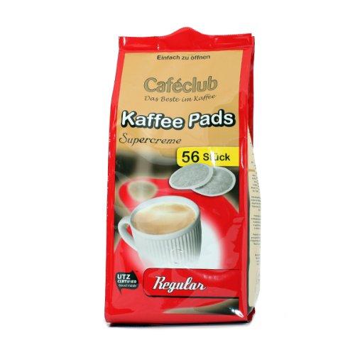 Cafeclub Supercreme VorteilPads Regular KaffeePads 10x56 Stuck