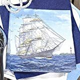 20 Servietten Sailing ship – Segelschiff / Maritim / Meer / Schiff 33x33cm - 2