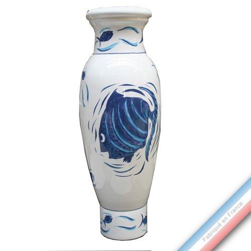 Lunéville 1730 Collection Grande Maree - Vase XXL - H 69 cm - Lot de 1