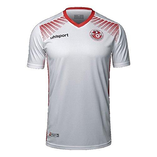 Uhlsport Tunesia Tunesien Trikot 17/18 Home (XXL, white)