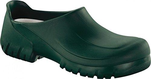 Alpro A 630 Clogs Schaum, grün, Größe 47 mit mittlerem Fußbett
