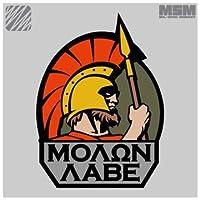 パッチ Molon Labe Full 刺繍(FullColor)