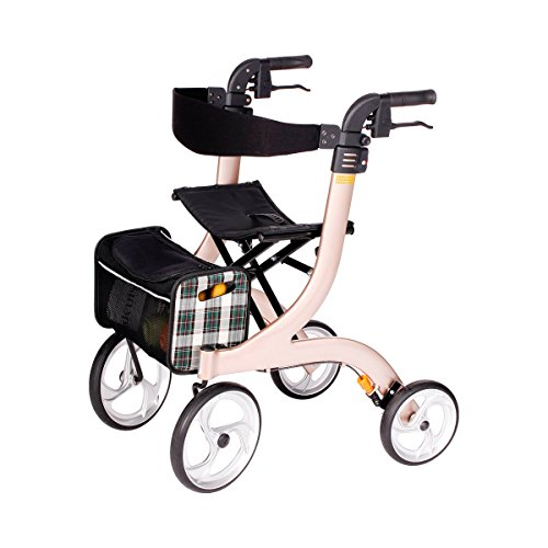 Drive Medical champagne rollator Nitro, maat M