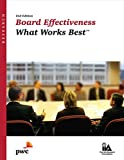 Board Effectiveness: What Works Best, 2nd Edition