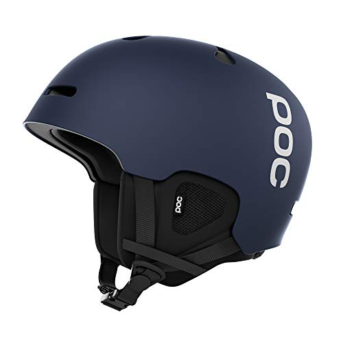 POC Auric Cut Casco, Unisex Adulto, Azul (Lead Blue), M-L 55-58