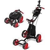 Best Cart Bags - Janus Golf Push Cart, Golf cart for Golf Review