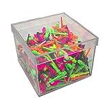 BILLARES Y DARDOS CAMARA Caja de 500 Puntas de Dardos de plástico Resistentes Colores para Diana electrónica, Rosca 2ba Apta para Dardos domésticos y Dardos Profesionales.