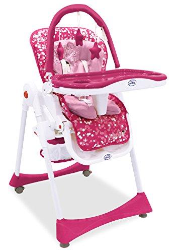 Asalvo Elegant - Trona, diseño flor de cerezo, color rosa