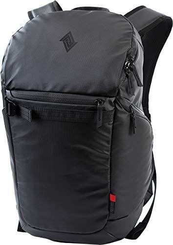 Nitro Nikuro Daypack Alltagsrucksack Schulrucksack Sportrucksack Wasserabweisende Reissverschlüsse Laptopfach, Storm Proof Black, 26 L