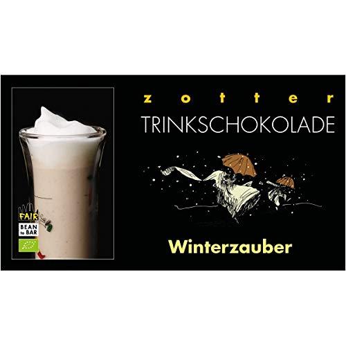 "Zotter Trinkschokolade ""Winterzauber"" mit Mandel & Kokos (110 g) - Bio"