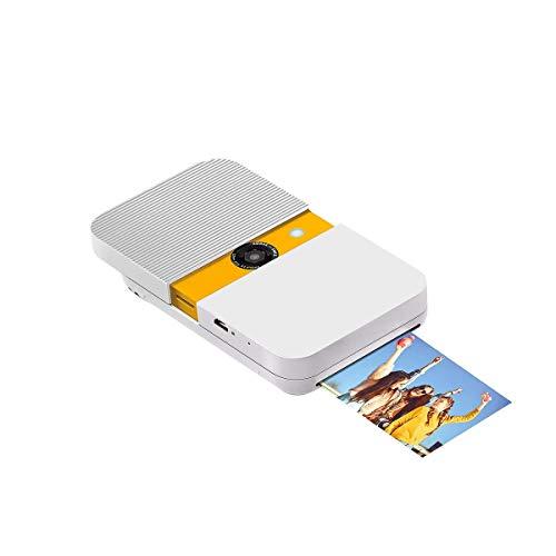 KODAK Smile Sofortbildkamera 10 Mio. Pixel Weiß, Gelb