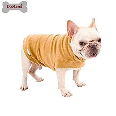 Doglemi Warm Dog Clothes Winter Pet Coat Medium Small Dog Coat Soft Cat Sweater Puppy Clothes Small Dog Jumpers Winter Dog Clothes For Small dogs Home Pet Clothing