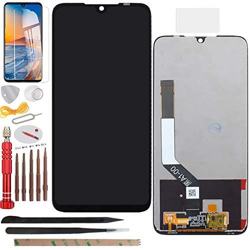 YHX-OU Pantalla táctil LCD de 6,3 pulgadas para Xiaomi Redmi Note 7/Redmi Note 7 Pro, con herramientas gratuitas (negro)