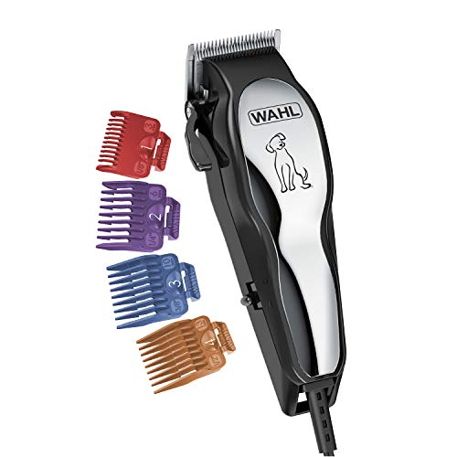 Wahl Clipper Pet-Pro Dog Grooming Kit - Quiet Heavy-Duty Electric Corded Dog Clipper for Dogs & Cats...