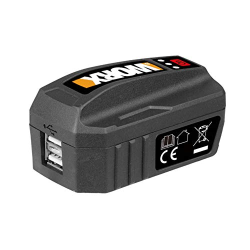 Worx WA4009 Powerbank/Tragbares Ladegerät für Akkus 20 V 20 V