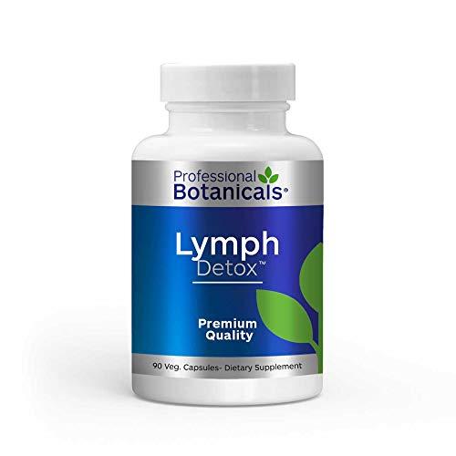 Professional Botanicals - Lymph Detox 500 milligrams 90 Caps