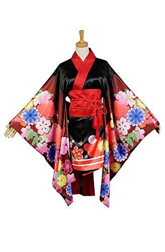 Super Sonico Kimono Kostüm Cosplay Damen Maßanfertigung