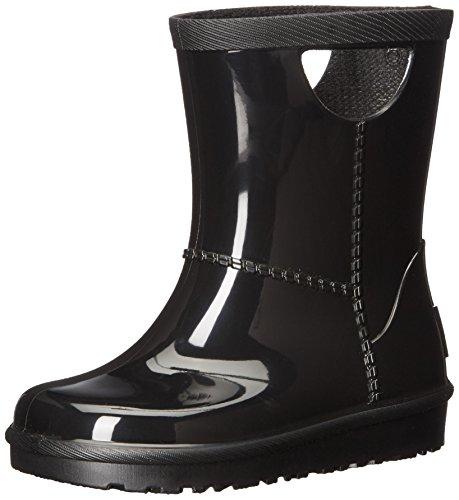 UGG Kids T Rahjee Rain Boot, Black, 8 M US Toddler