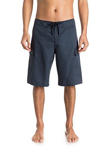 Quiksilver Men's Manic 22 Inch Length Cargo Pocket Boardshort Swim Trunk, Navy Blazer 2015, 33