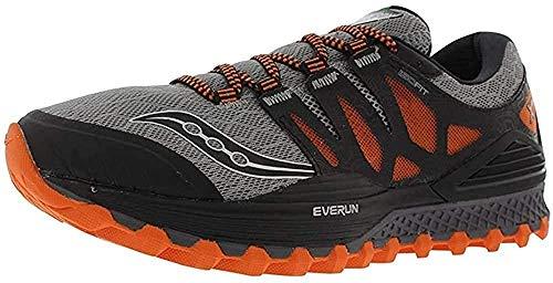 Saucony S20325-1, Zapatillas de Running Hombre, (Gris/Najanja/Negro), 42 EU