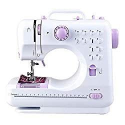 professional Portable hand-sewn sewing machine 2 with built-in 12 flower stitches …