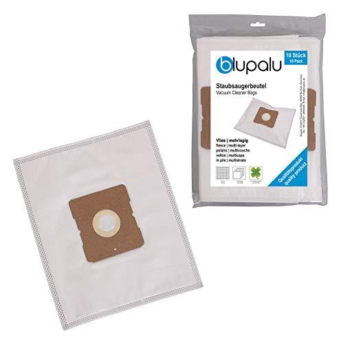 blupalu I Staubsaugerbeutel für Staubsauger Beko BKS 1215 | BKS1215 I 10 Stück I mit Feinstaubfilter | optimierter Adapter - Aufsatz