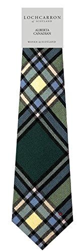 I Luv Ltd Gents Neck Tie Alberta Canadian Tartan Lightweight Scottish Clan Tie