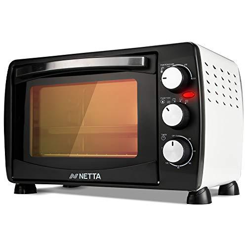NETTA Mini Oven 18L Portable Electric Grill - Multi Cooking Function Grill...