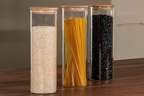 envases hermeticos de vidrio fabricante Zanetti