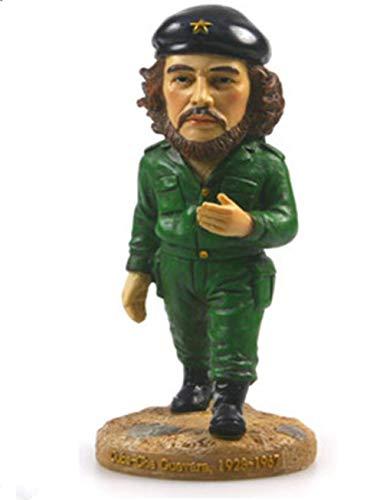 ZWWZ Resin Craft World Famow Cuban Cut.Guevara Home Creative Collection Office Study Decoración de la Mesa MISU