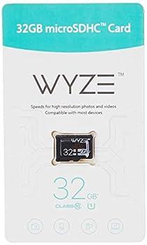 Wyze Labs Expandable Storage 32GB MicroSDHC Card Class 10 Black - WYZEMSD32C10