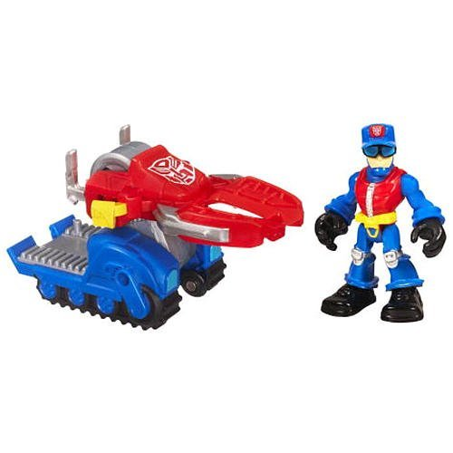Transformers Rescue Bots Playskool Heroes Action Figure Set Chief Charlie Burns Rescue Cutter by Hasbro by Hasbro