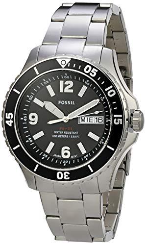 Relógio, Analógico, FOSSIL, FS5687/1KN, masculino, Metálico