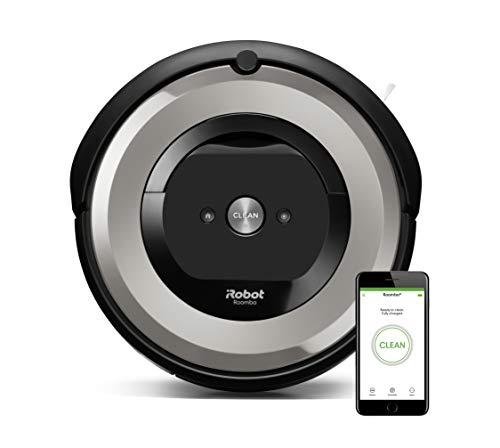iRobot Roomba e5154 Robot Aspirapolvere, Sistema ad Alte...