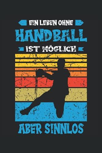Handball Handballer Trainer Handballspieler Spruch Sport Notizbuch