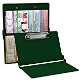 WhiteCoat Clipboard- Green - Respiratory Therapy Edition