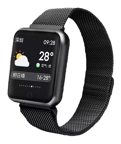 Relógio SmartWatch P68 App: Da fit Original Da Lemfo A Prova De Água Na Cor (PRETO) Com Duas pulseiras
