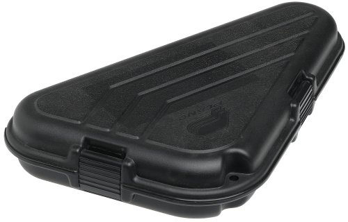 Shaped Pistol Case - Large - Black