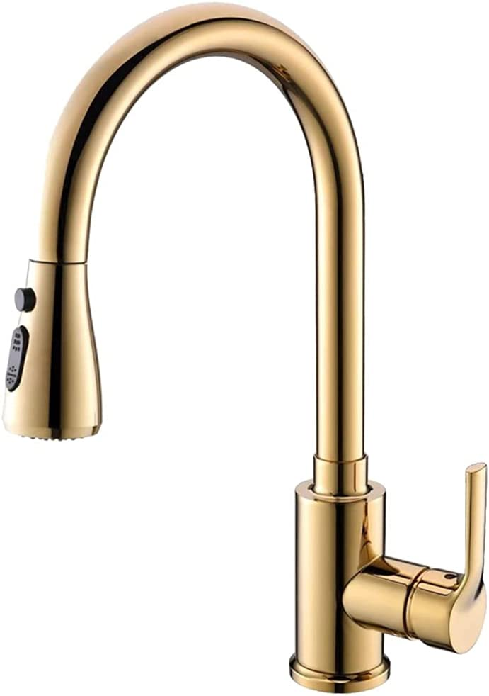 Kitchen Sink Regular Recommendation store Faucet With Pull Bar Down Sprayer Mixer Tap