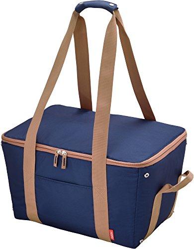 サーモス保冷買い物カゴ用バッグ約25LブルーREJ-025BL