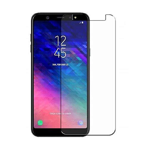 HQ-CLOUD 1 Film Vitre Verre Trempé de Protection d'écran Haute Transparence - Anti Rayures - Ultra Résistant Dureté 9H pour Samsung Galaxy A6 2018