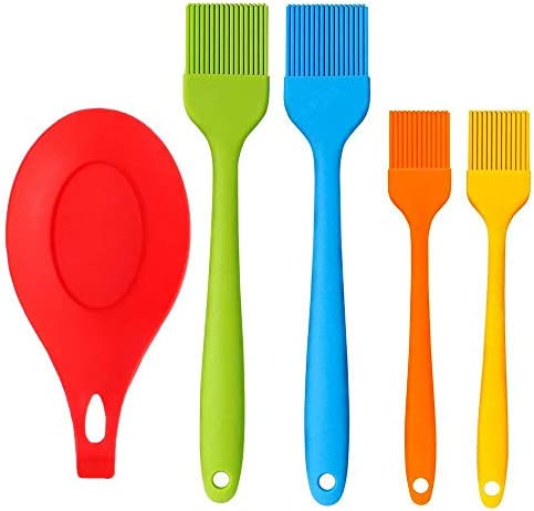 Pastry Brush Heat Resistant Silicone Basting Brush for Barbecue Baking Kitchen Cooking Desserts product image