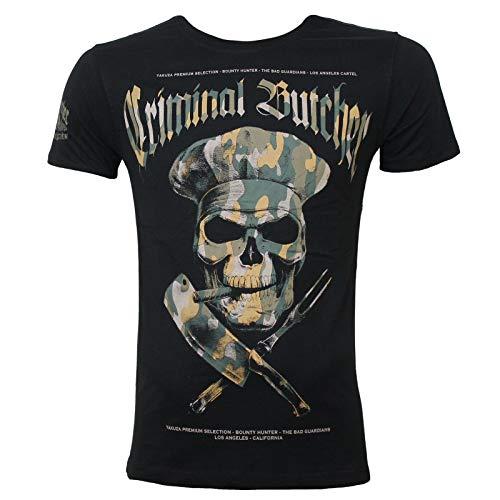 Yakuza Premium Herren T-Shirt 2700 schwarz camo XL