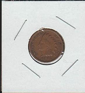 1895 Indian Head (1859-1909) Penny Fine -