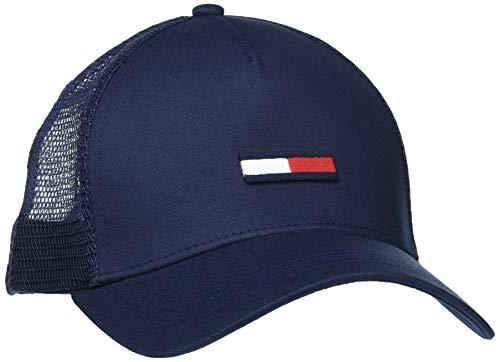 Tommy Hilfiger TJM Trucker Flag Cap Gorro/Sombrero, Blue, OS para Hombre