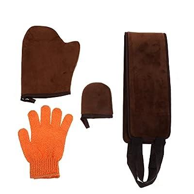 4 Selbstbräuner-Handschuh langlebiger Bräunungshandschuh