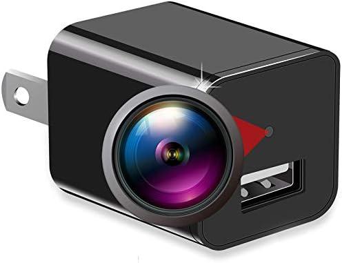 Spy Camera 1080P HD Hidden Camera Charger Mini Hidden Spy Camera Spy Cam Hidden Nanny Camera product image