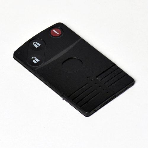 Plip Auto de Haute qualité Ultra résistant : 3 Boutons 'Ouverture et Fermeture du véhicule et Alarme. + 1 Lame de Secours Vierge Incluse