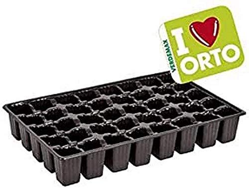 Verdemax 2285 Lot de 3 semences en Plastique 40 cellules 36 x 23 x 5,5 cm